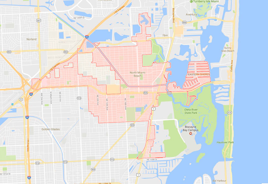 North Miami Beach Fl Zoning Map Best Beach On The World 2017